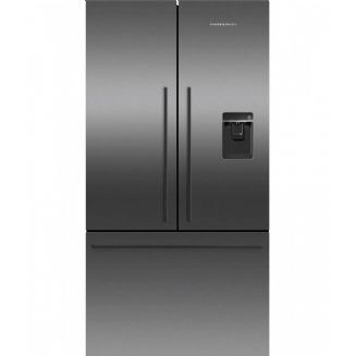 Fisher & Paykel RF540ADUB5 American Style Freestanding Fridge Freezer, A+ Energy Rating, Wide 90cm